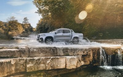 Mercedes-Benz Vans South Africa launches the range-topping X-Class V6