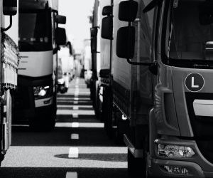 Truckers' lives at risk
