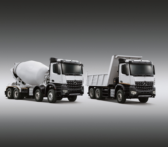 NEW MERCEDES-BENZ AROCS FOR CONSTRUCTION – RELIABILITY, ROBUSTNESS AND BODYBUILDER FRIENDLINESS