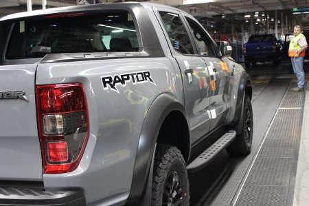Ford Ranger Raptor Trial Units Produced in South Africa