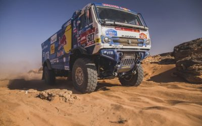 Goodyear-equipped KAMAZ-master team superior in Dakar 2021 with full TOP 3 podium finishes