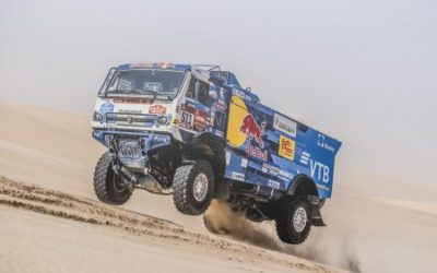 Standard GOODYEAR tyres on Kamaz Trucks dominate 2020 Dakar Rally
