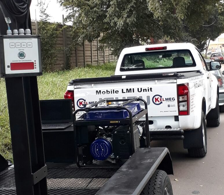 KELMEG LIFTING SERVICES PROVIDES CUSTOMER SUPPORT 'ON SITE AND ON DEMAND' WITH ITS MOBILE LMI UNIT