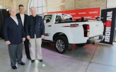 ISUZU ANNOUNCED AS TITLE SPONSOR FOR THE 2018 IRONMAN 70.3 WORLD CHAMPIONSHIP