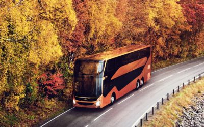 Volvo Buses receives order for 22 units of the new double-decker model for the Gothenburg to Borås route