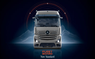 Fleetboard becomes standard on the Mercedes-Benz truck range!