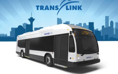 TransLink selects Nova Bus for 15 electric buses LFSe+ – further expanding low emission mobility in Vancouver