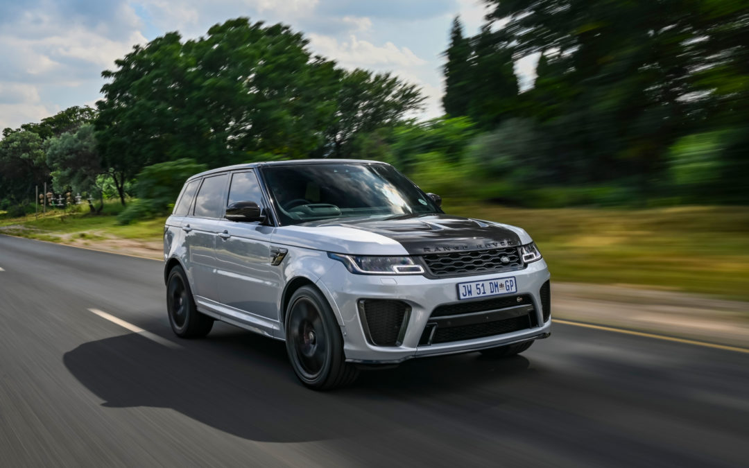 Range Rover Sport SVR Carbon Edition weaves its way into South Africa