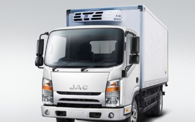 JAC Motors' N56 3-tonne truck, best urban logistics solution