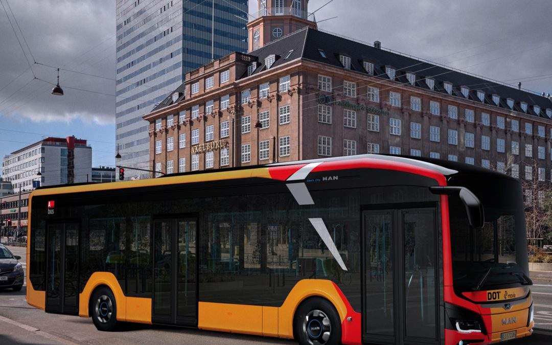 Début in Copenhagen: Anchersen A/S orders 25 all- electric MAN Lion's City 12 E buses