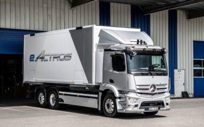 A new truck era: Mercedes eActros celebrates its world premier